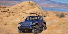 Jeep Wrangler im Test: Offroad und Onroad ein Spaß