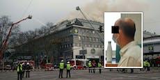 Großbrand im Donauzentrum blieb 6 Stunden unentdeckt