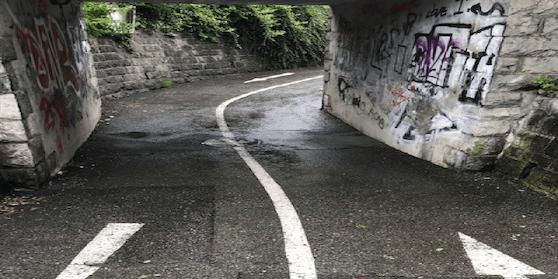Fahrradunterführung in Feldkirch