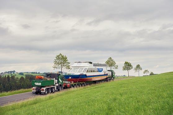 Durch Linz, das Mühlviertel bis nach Tschechien wurde die Smetana gefahren.