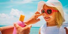 Öko-Test: Kritische Inhaltsstoffe in Kinder-Sonnencreme