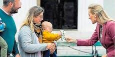 Baby musste Familien-Ministerin Geld zurückgeben