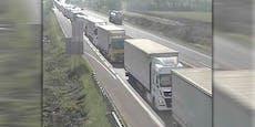 Unfall sorgt für 15-Kilometer-Stau auf A4 Richtung Wien