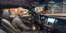 Arnautovic: Geheim-Fahrt mit Rolls-Royce durch Wien