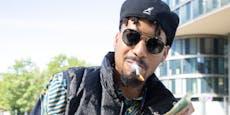 Deutscher Rapper zündet sich nach Schuldspruch Joint an