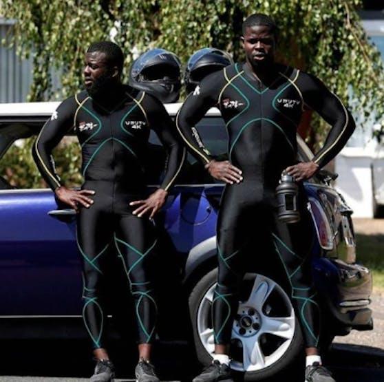 Ein eingeschweißtes Team: Shanwayne Stephens (links) und Nimroy Turgott wollen 2022 zu den Olympischen Spielen.