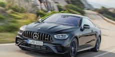 Mercedes frischt E-Klasse Coupé und Cabrio auf