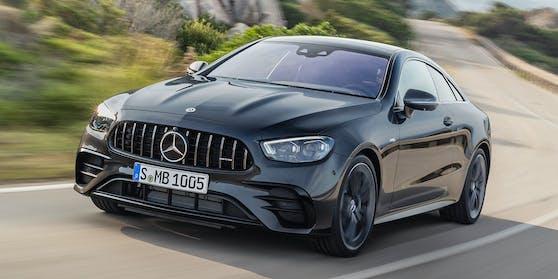 Frontansicht Mercedes E-Klasse Coupé FL