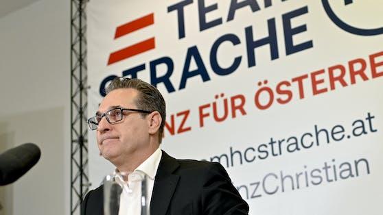 Heinz-Christian Strache führt erneut einen Wien-Wahlkampf.
