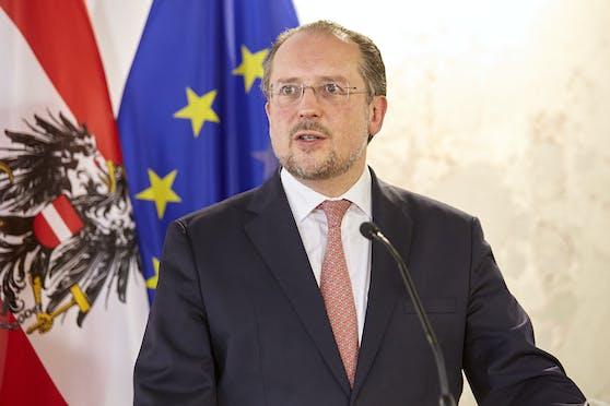 Außenminister Alexander Schallenberg