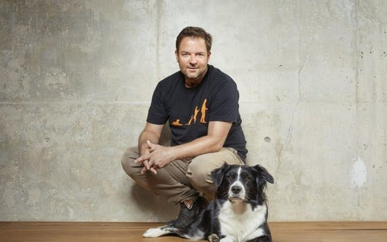 "TV-Hundeprofi Martin Rütter im ""Heute""-Hundetalk."