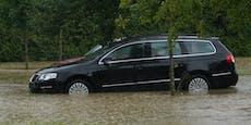 Straßensperren in NÖ wegen Überflutungen