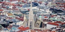 So schön ist Wien aus der Vogelperspektive