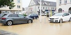 Sintflut-Regen sorgt für Hochwasser und Überflutungen