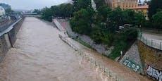 Überflutet – Wiental-Radweg bleibt ganze Woche gesperrt