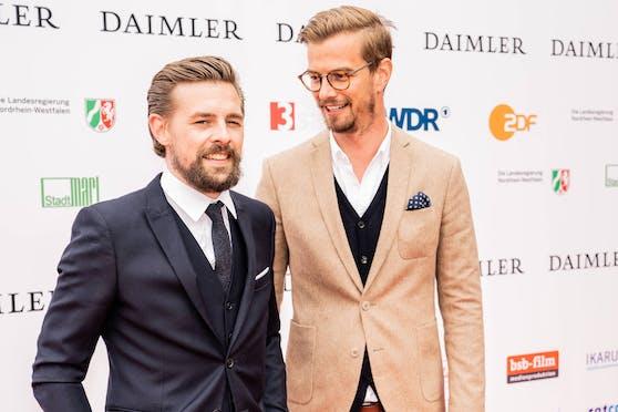 TV-Entertainer Joko Winterscheidt (re.) will sich künftig wieder vermehrt eigenen Projekten ohne Klaas Heufer-Umlauf widmen.