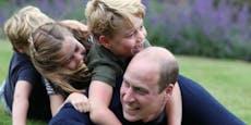 Prinz William feiert Geburtstag mit neuen Familienfotos