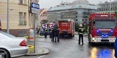 Kellerbrand in Wien forderte einen Verletzten