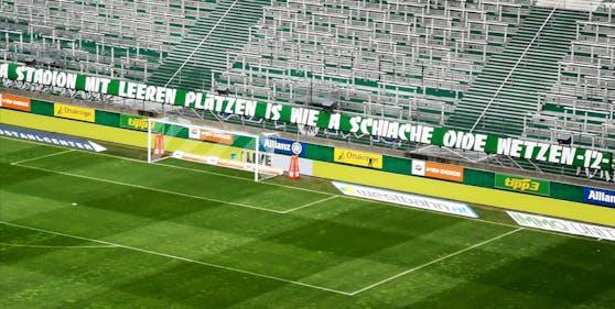 Dieses sexistische Transparent schaffte es ins Allianz Stadion.