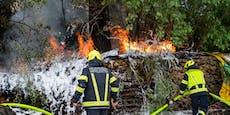 Serie nimmt kein Ende, erneut Brand in Asten