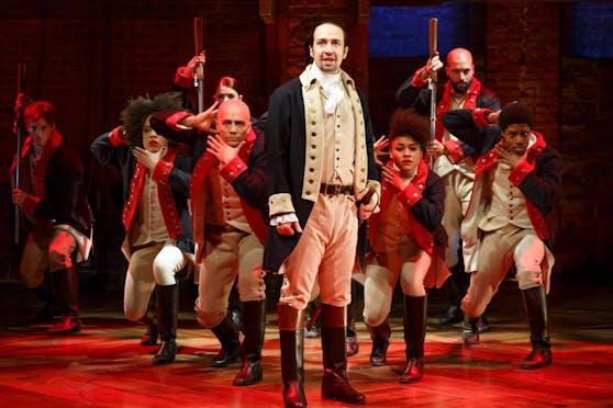 """Das Musical """"Hamilton"""" soll seinen Siegeszug ab Juli 2020 auch auf der Streamingplattform Disney+ fortsetzen."""