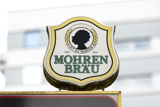 Der Firmensitz von Mohrenbräu in Dornbirn, Vorarlberg.