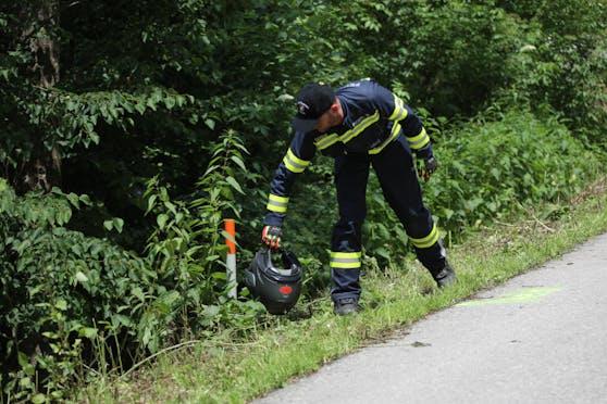 Vergangene Woche starb in Waizenkirchen ein Biker bei einem Crash.