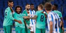 Real Madrid siegt und zieht an Barcelona vorbei