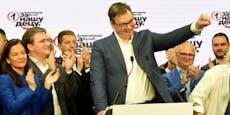 Vucics Partei siegt klar bei serbischer Parlamentswahl