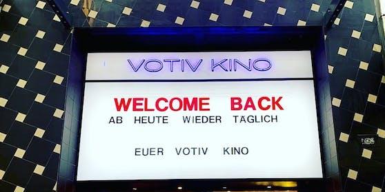 Wiener Kinos mussten etliche Besucher wegen Corona-Beschränkungen wegschicken.