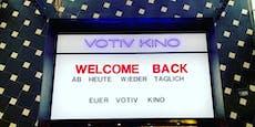 Wiener Kinos mussten Besucher wegschicken