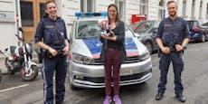 Polizisten retteten schwangerer Frau und Baby das Leben