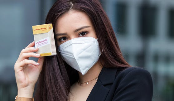 Mundschutz-Masken gibt's bald im Tschick-Automaten ...