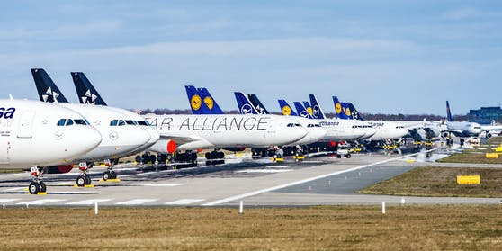 Flugzeuge - Symbolbild