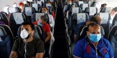 Airline will Masken-Verweigerer aus Flieger schmeißen