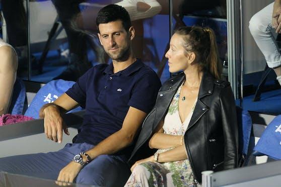 Auch Jelena Djokovic istm it dem Coronavirus infiziert.