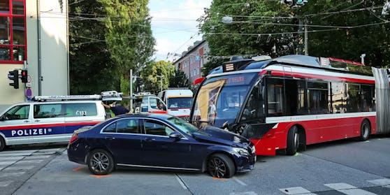 Der Unfall ereignete sich in Lehen.