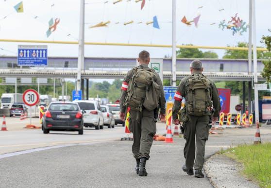 Der Vorfall ereignete sich an der österreich-slowenischen Grenze. Symbolbild.