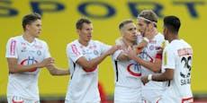 2:0! Austria steht fix im Play-off um die Europa League