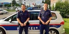 """Polizei-Helden retten Mann: """"Hat nicht mehr reagiert"""""""