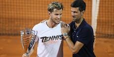 """Thiem verteidigt Djokovic: """"Verstehe die Kritik nicht"""""""