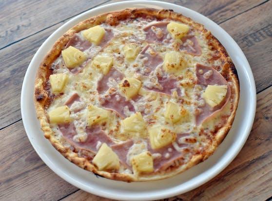 Über die Pizza Hawaii wird kontrovers diskutiert.