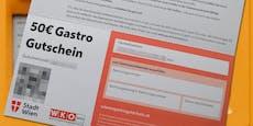 Stadt sperrte 150 gestohlene Schnitzel-Gutscheine