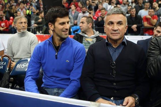 Srdjan Djokovic gibt Brigor Dimitrow die Schuld.