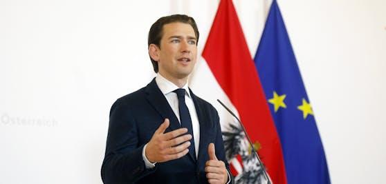 Bundeskanzler Kurz präsentierte am Mittwoch neue Lockerungen.