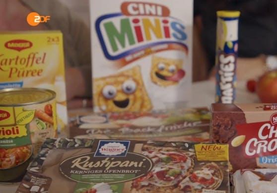 Eine Auswahl an Dingen, die Andrea zwei Wochen lang essen musste.