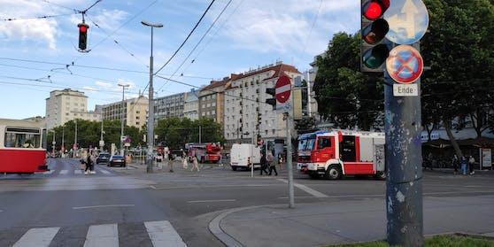 Feuerwehr-Einsatz am Schwedenplatz