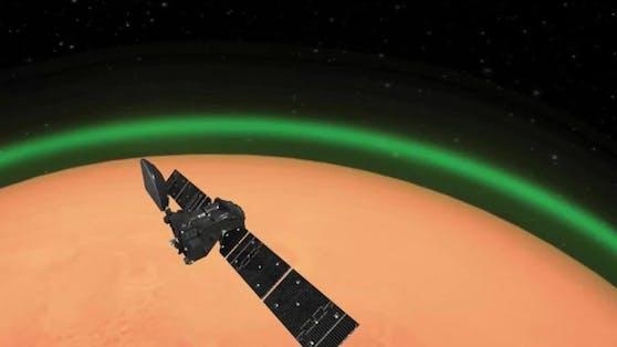 Dieses Licht wurde bislang nur auf einem anderen Planeten gesichtet.
