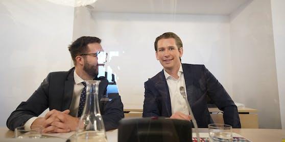Sebastian Kurz beim Ibiza-U-Ausschuss vergangenes Jahr
