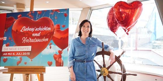 """Nina Horowitz (42) macht die neuen """"Liebesg'schíchten""""."""